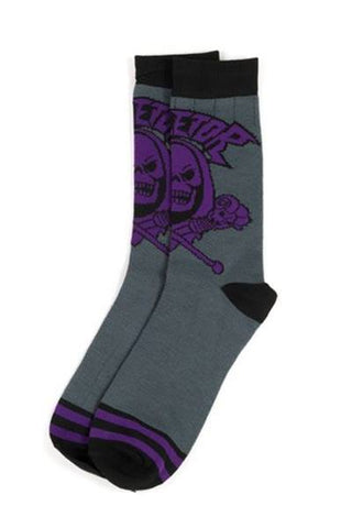 Masters of the Universe Skeletor Socks