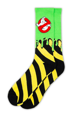 Ghostbusters Slimer Socks