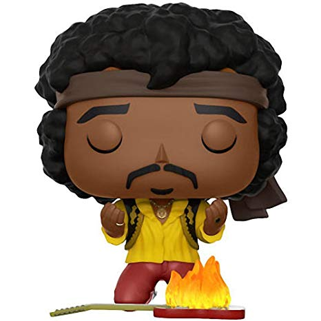 POP! FUNKO Jimi Hendrix (Burning Guitar)