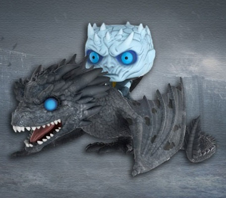 PREORDER - POP! FUNKO Game Of Thrones NIGHT KING ON DRAGON