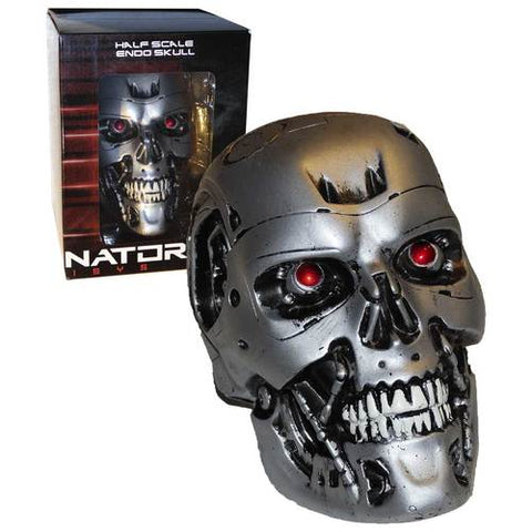 Terminator Genisys Collectible Half Scale Endo Skull Model