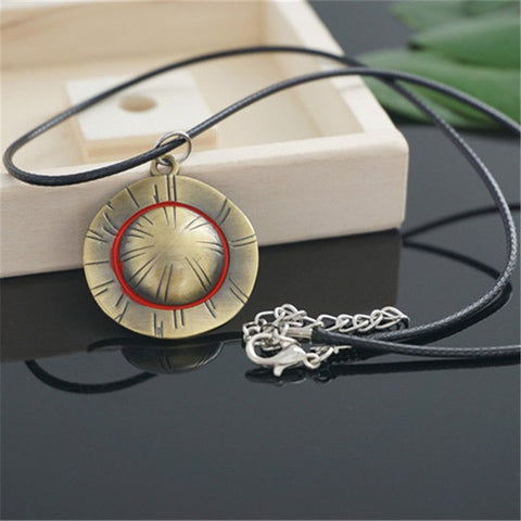 NECKLACE STRAWHAT ONE PIECE MUGIWARA