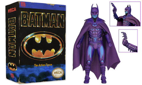 Batman Action Figure Video Game Neca