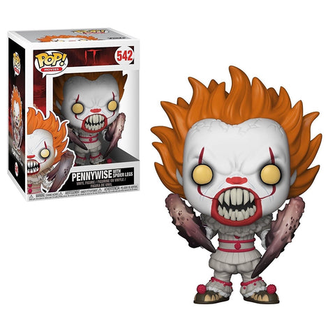 POP! FUNKO PENNYWISE WITH SPIDER LEGS