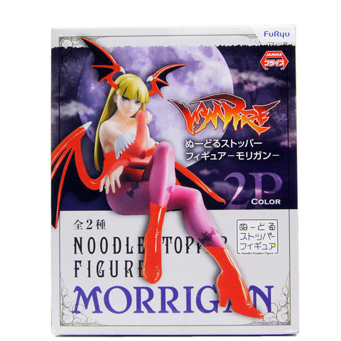 Capcom MORRIGAN Noodle Stopper Figure Furyu Japan