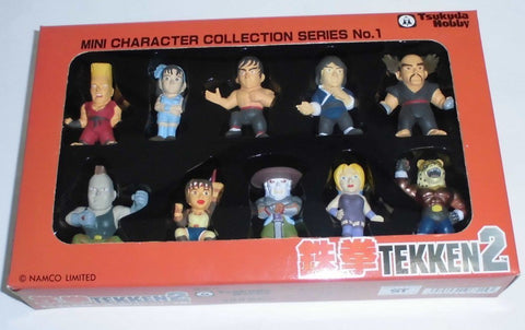 Tekken 2 Mini Character Collection Tsukuda Hobby/Sega figure