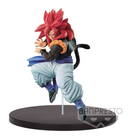 GOGETA SS4 BANPRESTO SCULTURES 7 DRAGON BALL