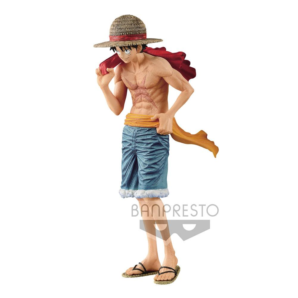 Preorder One Piece Magazine Statue Monkey D Luffy Cover Of 20th Anniversary One Piece Magazine