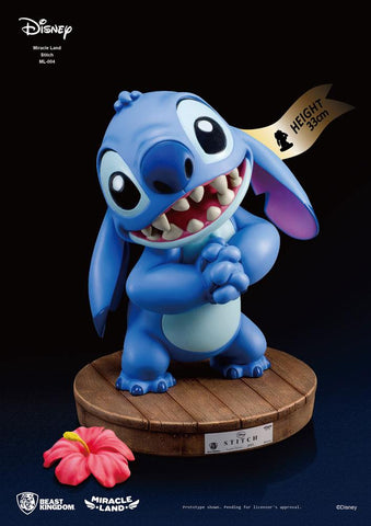 PREORDER - Disney statua Miracle Land Stitch