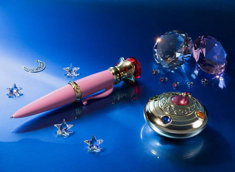 PREORDER - Sailor Moon Proplica Replicas Transformation Brooch & Disguise Pen Set Tamashii Web Exclusive