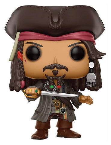 PREORDER - POP! FUNKO Pirates of the Caribbean Dead Men Tell No Tales Movies Vinyl Figure Jack Sparrow