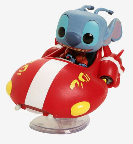 PREORDER - POP! FUNKO Lilo & Stitch POP! Rides Vinyl Figure The Red One Exclusive