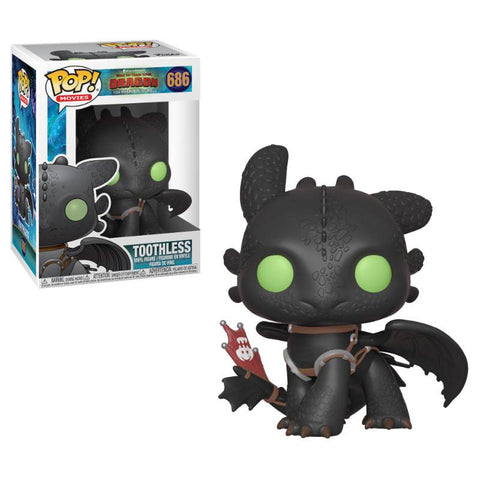 PREORDER - POP! FUNKO How to Train Your Dragon 3 Vinyl Figure Toothless
