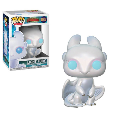 PREORDER - POP! FUNKO How to Train Your Dragon 3  Vinyl Figure Light Fury