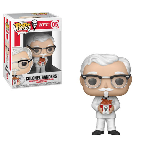PREORDER - POP! Funko  KFC Ad Icons Colonel Sanders