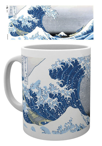 PREORDER - Japanese Art Mug Great Wave by Utagawa Hiroshige