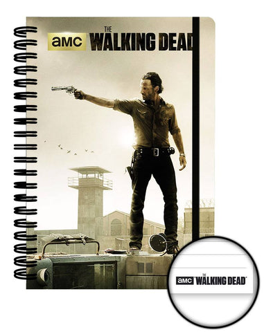 WALKING DEAD NOTEBOOK OFFICIAL A5