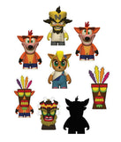 CRASH BANDICOOT VINYL MINI FIGURES 8 CM RANDOM KIDROBOT