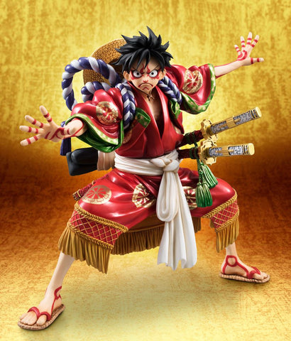 PREORDER LUFFY KABUKI EDITION ONE PIECE MEGAHOUSE P.O.P.