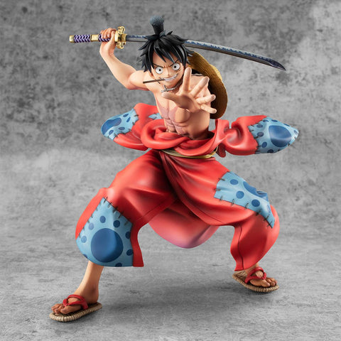 PREORDER One Piece P.O.P PVC Statue Warriors Alliance Luffy Taro 17 cm