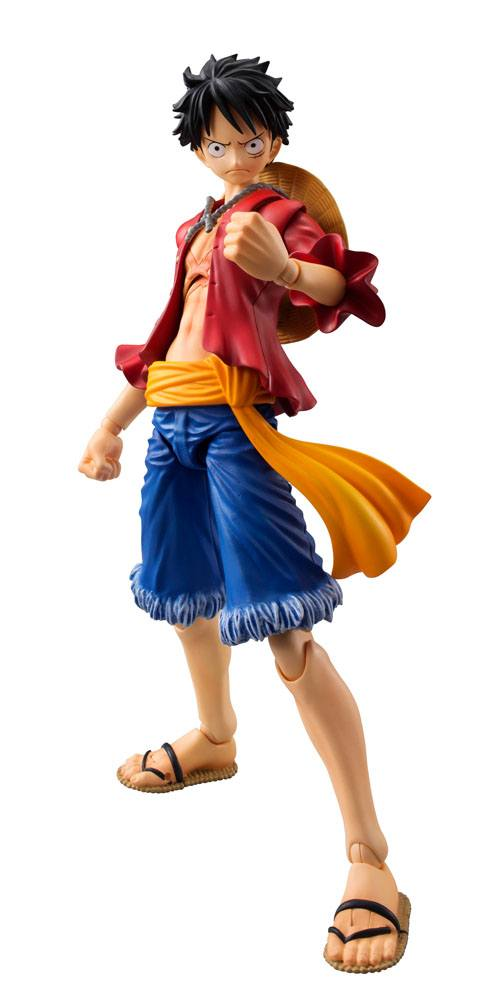 Preorder One Piece Variable Action Heroes Action Figure Monkey D Luffy 18 Cm