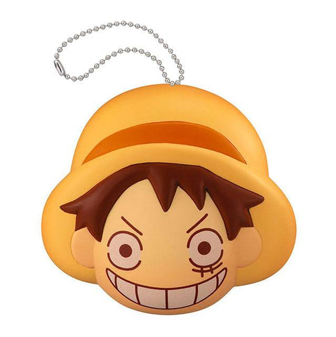PREORDER One Piece Fluffy Squeeze Anti-Stress MEGAHOUSE 8 cm LUFFY