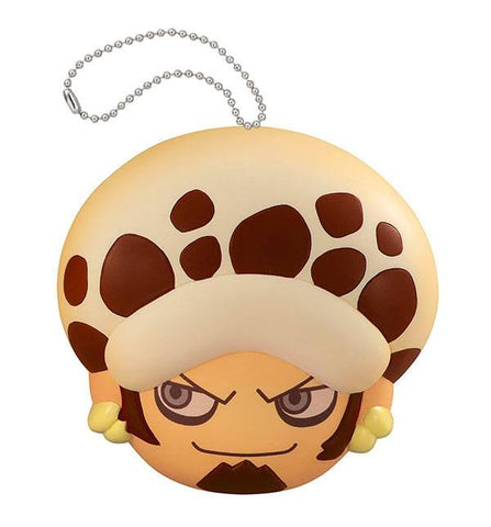 PREORDER One Piece Fluffy Squeeze Anti-Stress MEGAHOUSE 8 cm TRAFALGAR LAW