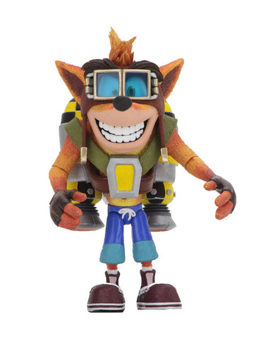 PREORDER CRASH BANDICOOT JETPACK ACTION FIGURES 14 CM NECA