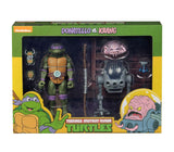 PREORDER - Teenage Mutant Ninja Turtles Action Figure 2-Pack Donatello vs Krang in Bubble Walker