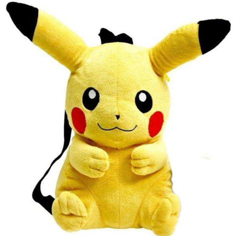 PREORDER - Pokemon Plush Backpack Pikachu