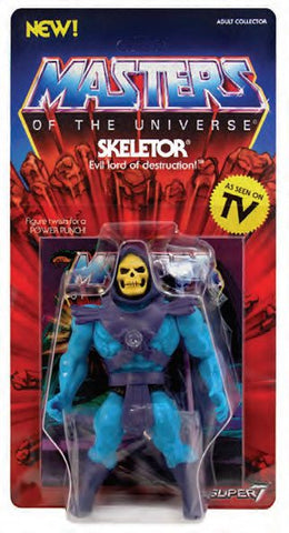 PREORDER Masters of the Universe Vintage Collection Action Figure Skeletor 14 cm