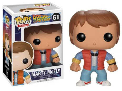 PREORDER - POP! FUNKO Back to the Future Vinyl Figure Marty