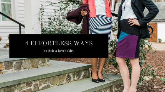 4 Effortless Ways to Style a Jersey Skirt