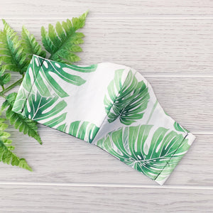 Face Mask - Monstera