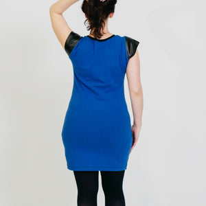 Bisector Color Block Dress - SAMPLE