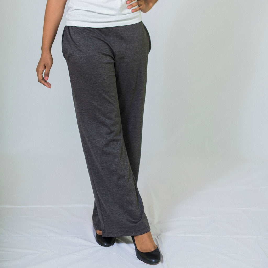 Column Wide Leg Pants