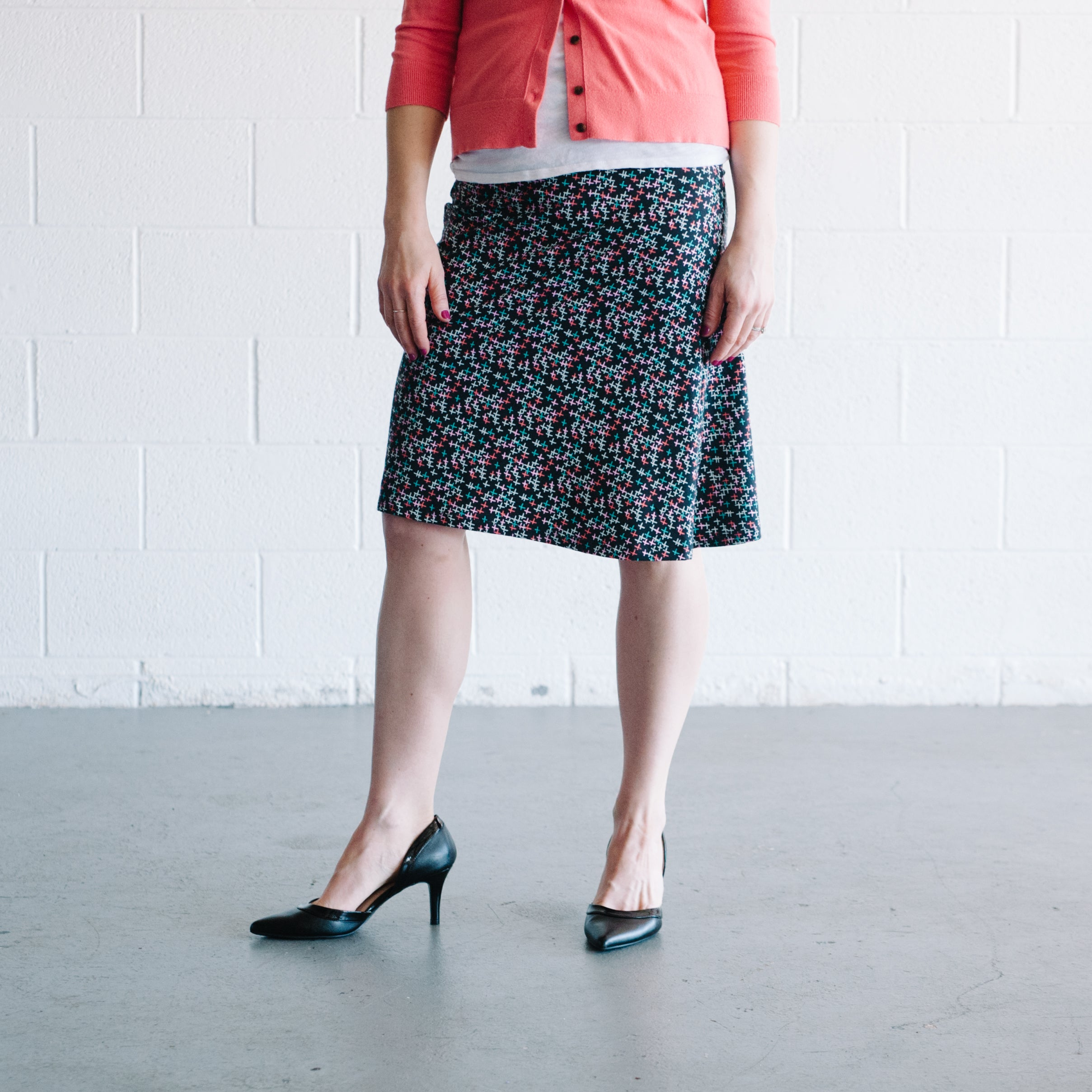 Summation Midi Skirt