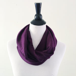 Infinity Scarf - Deep Purple