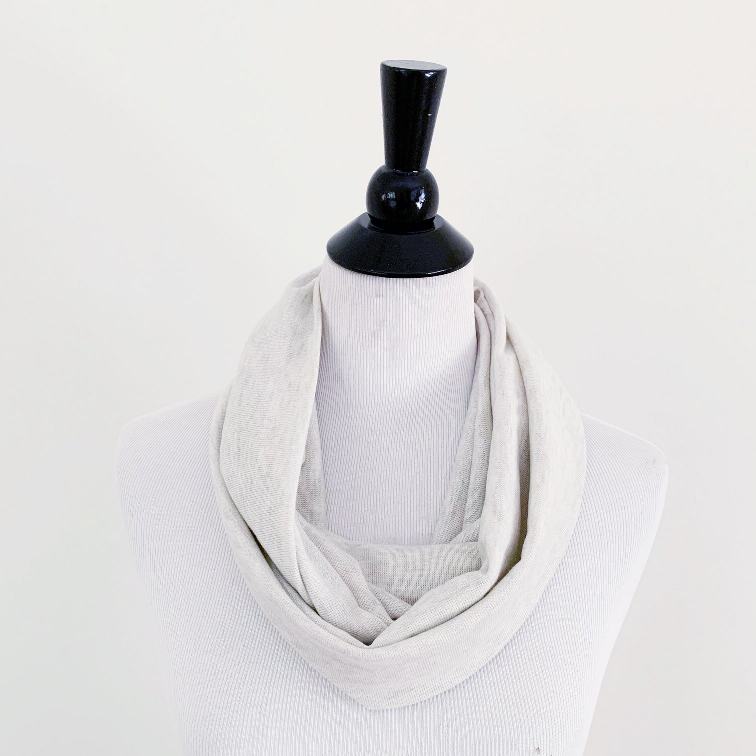 Infinity Scarf - Oatmeal Heather