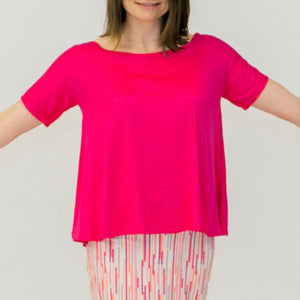 Sector Swing Top SS Pink