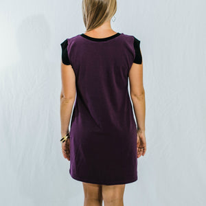 Bisector Color Block Dress