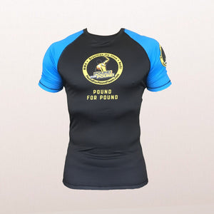 P4P KINGZ Competitor Logo Rash Guard