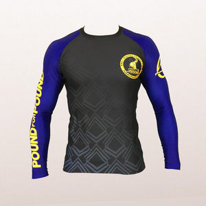 FUJI PFP Rash Guard Long Sleeve - IBJJF Ranked