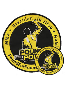 Pound for Pound Team Patch
