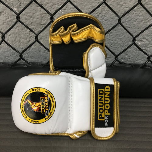 Pound for Pound MMA Gloves White