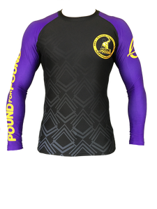 FUJI P4P Rash Guard Long Sleeve - IBJJF Ranked