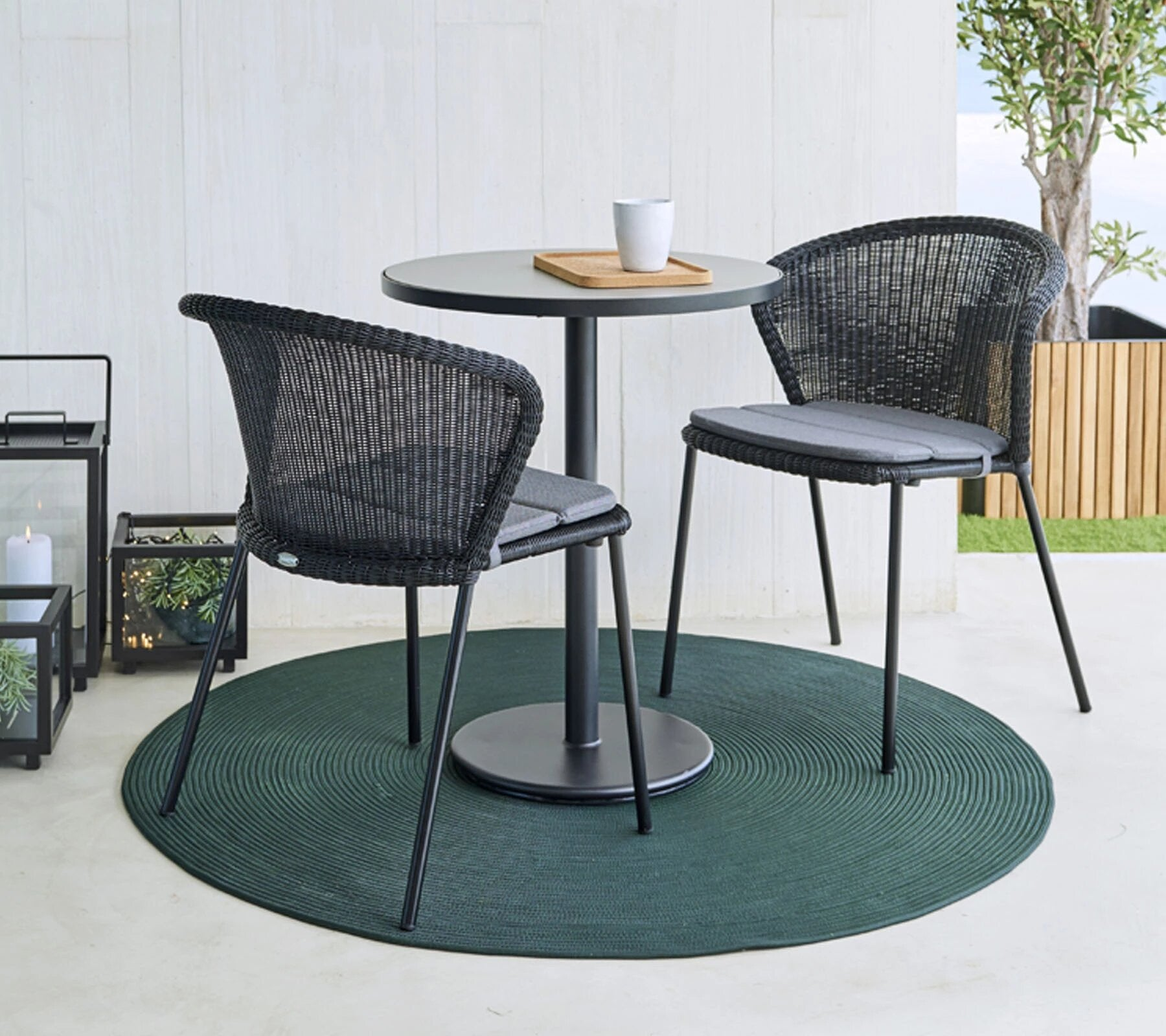 Infiinity Circular Outdoor Carpet