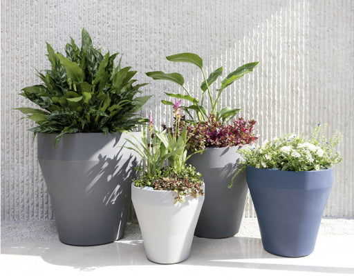 Rim Planters with Self Watering TruDrop