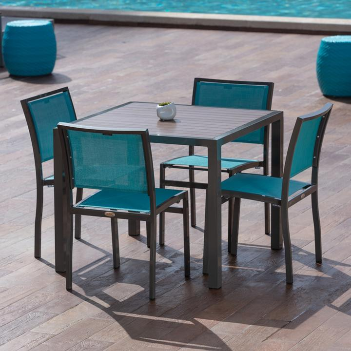 Florence Square Dining Table (No Umbrella Hole)
