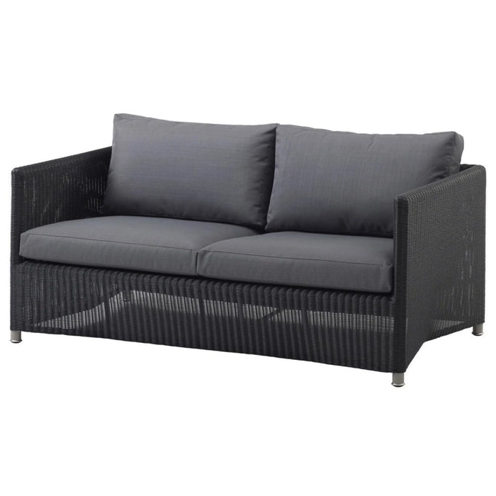 Diamond Weave 2-Seater Sofa